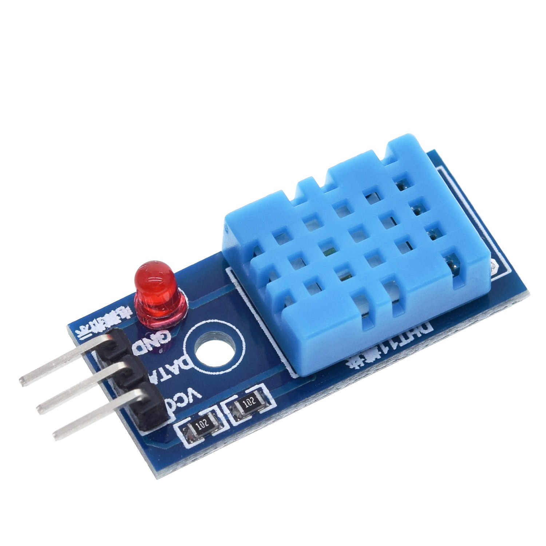Tzt Nieuwe DHT11 Temperatuur En Relatieve Vochtigheid Sensor Module Voor Arduino