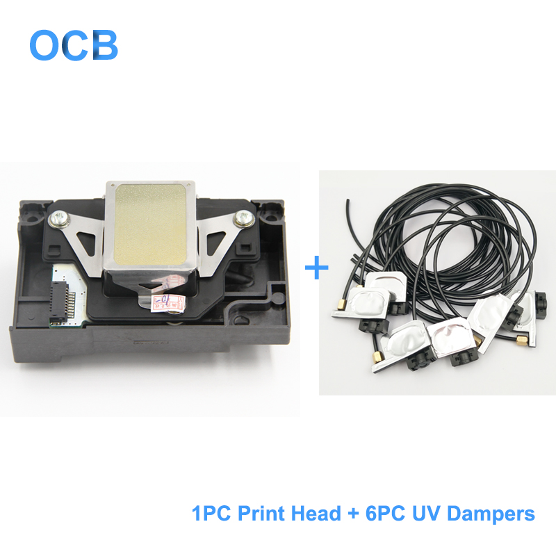 F173050 F173060 F173070 Print Head Printhead For Epson Stylus Photo RX580 1390 1400 1410 1430 L1800 1500W R260 R270 R330 R360(China)