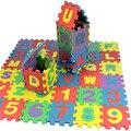 36 Шт. Детские Малышей ЕВА Головоломки Мат Алфавита Развивающие Игрушки Загадочным Пены