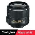 Nikon фирменнй переходник для объектива Canon 18-55 Объектив Nikon AF-S DX фирменнй переходник для объектива Canon 18-55 мм f/3,5-5,6G VR II Объективы для Nikon D3100 D3200 D3300 D3400 D5100 D5200 D5300 D5500 D40 - фото