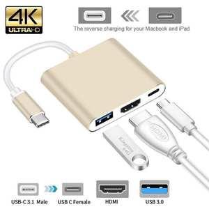 Adapter Converter Usb-C Hdmi-Type Mac Apple Macbook Aluminum