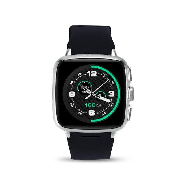 Z01 Android 5.1 Bluetooth 4.0 Smart Watch 512 Ram 4 Г ROM WiFi GPS SIM Камеры Спорт Сердечного Ритма Фитнес Сна Monitor Наручные Часы