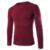 2017 Nova Moda Outono Marca Camisola Ocasional O-pescoço Sólidos Slim Fit Tricô Mens Suéteres E Pulôveres Dos Homens Homens Pullover ZQ36