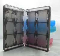 28 In 1 Black White Red Blue Pink Color Game Card Case Holder Cartridge Box For
