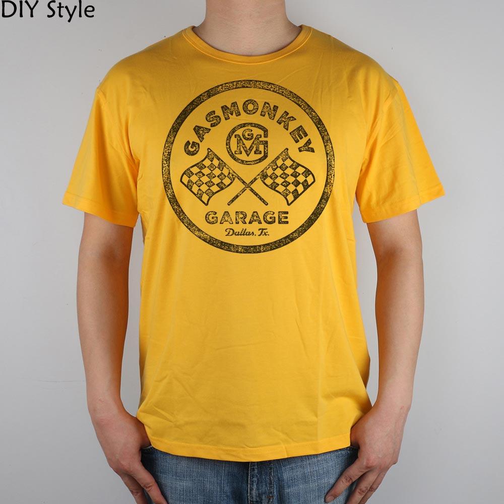 Shirt design dallas tx - Online Shop Gas Monkey Garage Dallas Tx 1813 T Shirt Top Lycra Cotton Men T Shirt New Design High Quality Digital Inkjet Printing Aliexpress Mobile