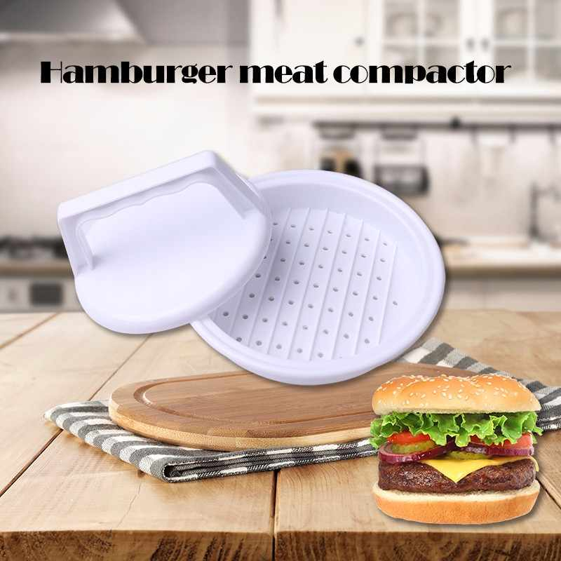 1 Set Diy Hamburger Vlees Druk Tool Patty Makers Vlees Hamburger Maker Mold Food-Grade Plastic Hamburger Druk Burger maker