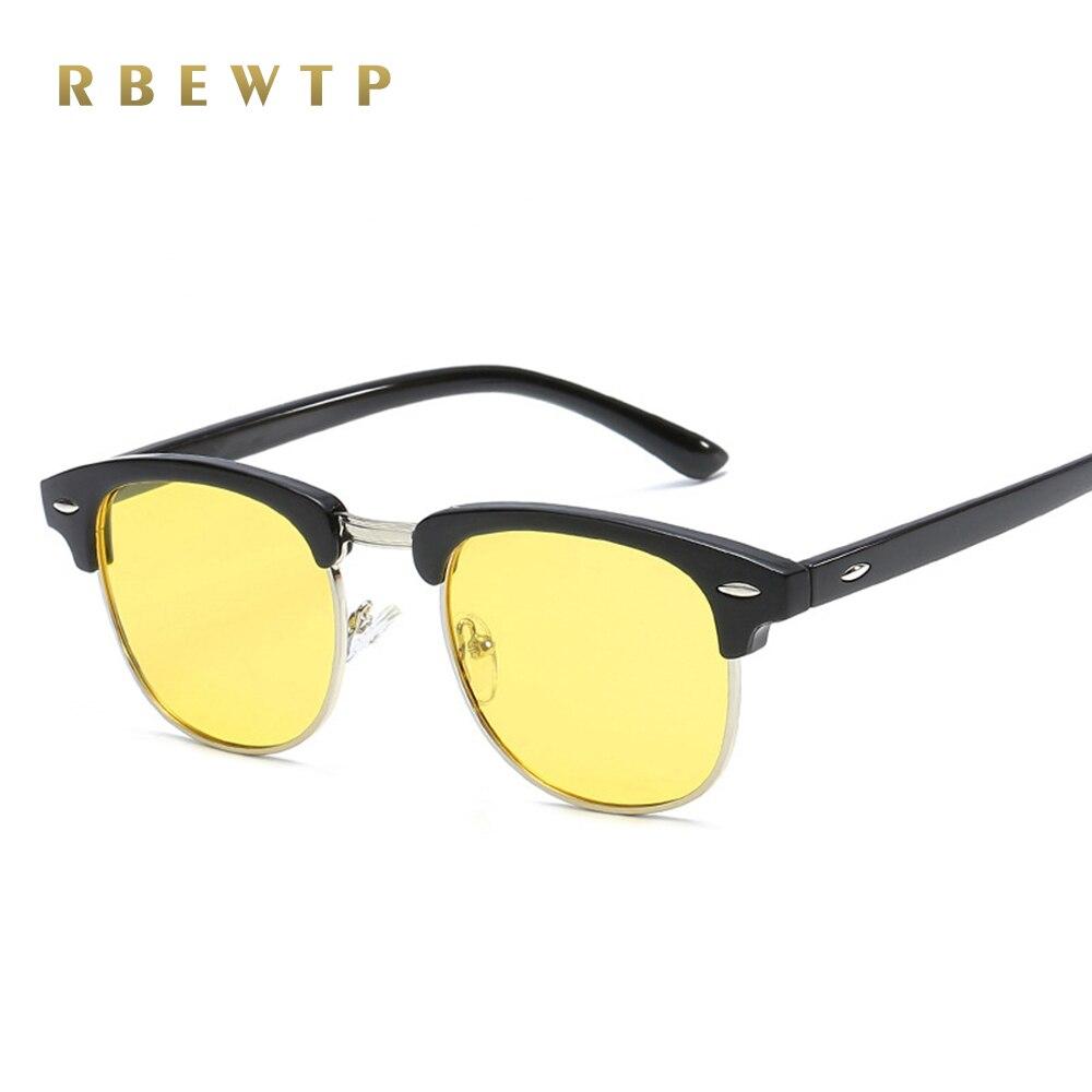 2019 New Semi Rimless Men's Sports Sun Glasses Driving