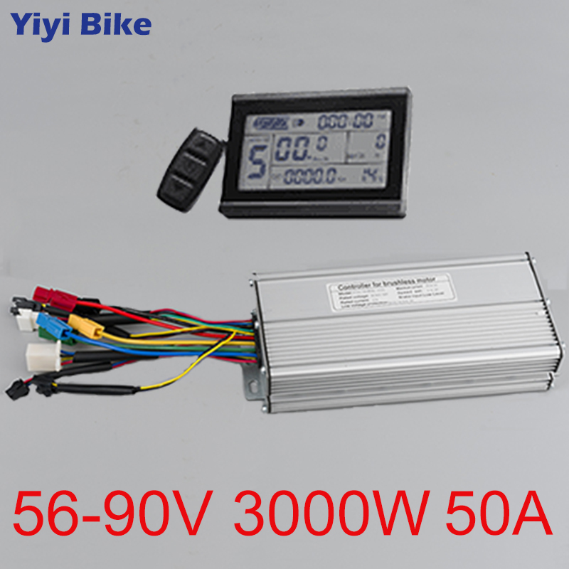 24//36//48V 250W Electric Scooter Bicycle Brushless Controller LED Display Kit  Ch