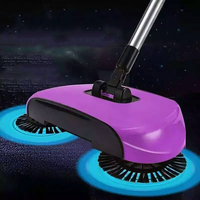 2017 Sweeping Machine Push Type Magic Broom Convenient Sweeper Dustpan Hand Vacuum Floor Robotic Vacuum Cleaner