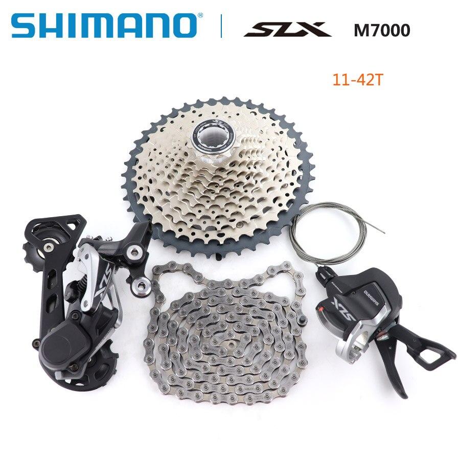 SHIMANO SLX M7000 Mise À Niveau-Kit VTT Vtt M7000 Groupset 11-Vitesse 42 T 46 T M7000 Arrière dérailleur Levier de vitesses