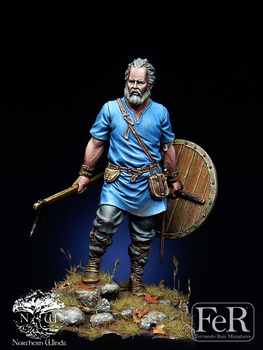 1/32, Resin kit Figure GK Viking Raider, Ireland, 795 Historical and humanistic themes Uncoated No colour