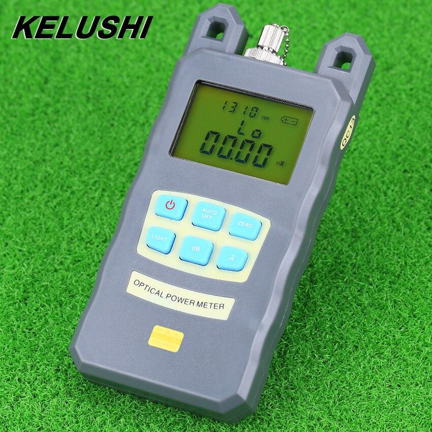 KELUSHI Fiber Optique Optique Power Meter Câble Testeur Réseaux Avec FC/SC connecteurs-70 ~ + 10dBm