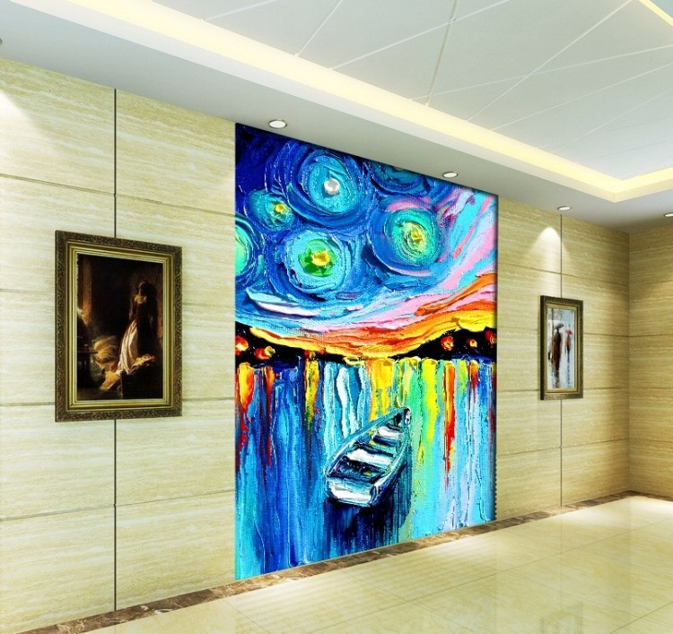 Aliexpress.com : Buy 3D Canvas Painting Abstract Customized ...