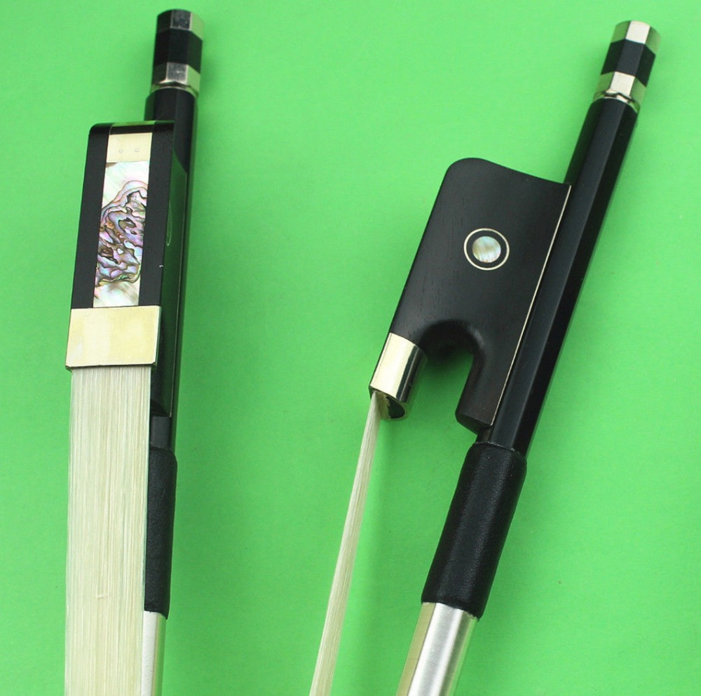 1 Pz Professionale 3/4 In Fibra Di Carbonio Double Bass Bow. Contrabbasso Accessori