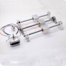 3D Принтер направляющей наборы T8 Ходового винта длина 500 мм + SK8 линейный вал 8*500 мм + KP08 SC8UU + гайка корпус + муфта + шагового двигателя