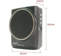 Free Shipping AKER MR2700 12W Waistband Portable PA Voice Amplifier Booster MP3 Speaker FM