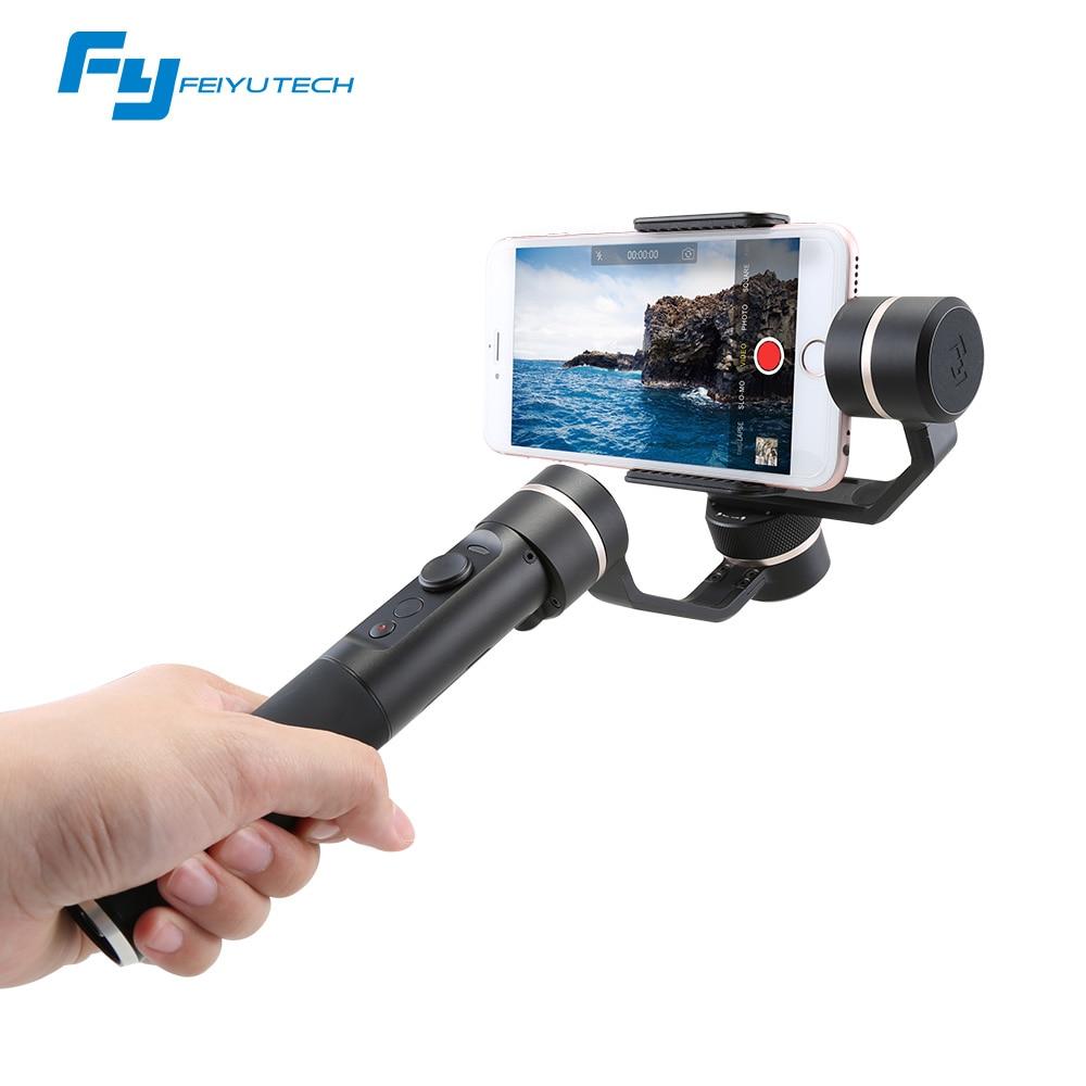 FeiyuTech SPG Cardan 3-Axes De Poche Cardan Stabilisateur pour iPhone 7 6 Plus Smartphone Gopro Camera Action VS Zhiyun lisse Q