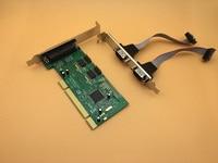 Free Shipping 2 Port DB9 Serial RS 232 1 Port DB 25 Parallel Printer LPT1 Ports