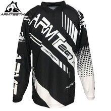 2017 Armteeth New Arrival Motorcycle Long Sleeve Racing Shirt Dirt Bike Cycling Jersey DH MX Motocross Jerseys