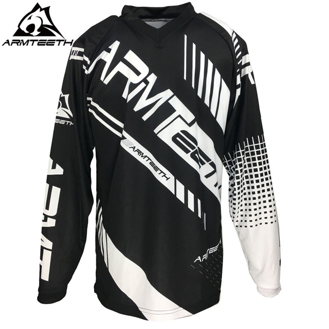 037dca11271 2018 Armteeth New Arrival Motorcycle Long Sleeve Racing Shirt Dirt Bike  Cycling Jersey DH MX Motocross Jerseys