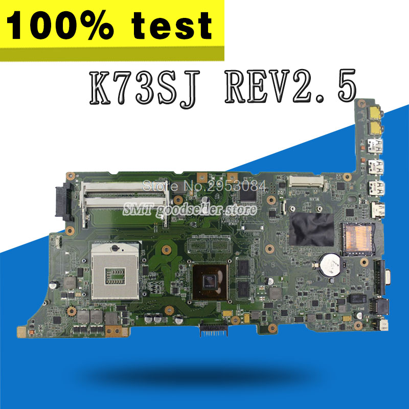 For Asus Motherboard K73SJ REV2.3 Mainboard HM65 PAG 989 GT540M Non-intergated 100% Test work well Motherboard S-4For Asus Motherboard K73SJ REV2.3 Mainboard HM65 PAG 989 GT540M Non-intergated 100% Test work well Motherboard S-4