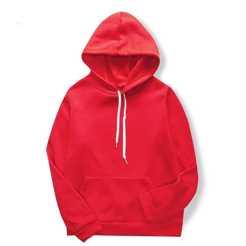 Fashion Hoodies Men/Women Casual Pure Color Sweatshirt Vibes Forever Traksuit Fleece Pullover Hoody Size Xs-4xl