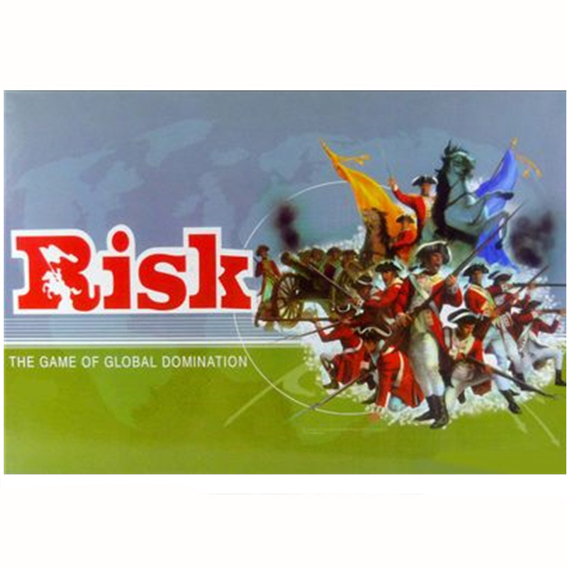 Risk Board Game 2-6 Players to Play Family/Party/ Friends Best Gift for Children English Strategy Game