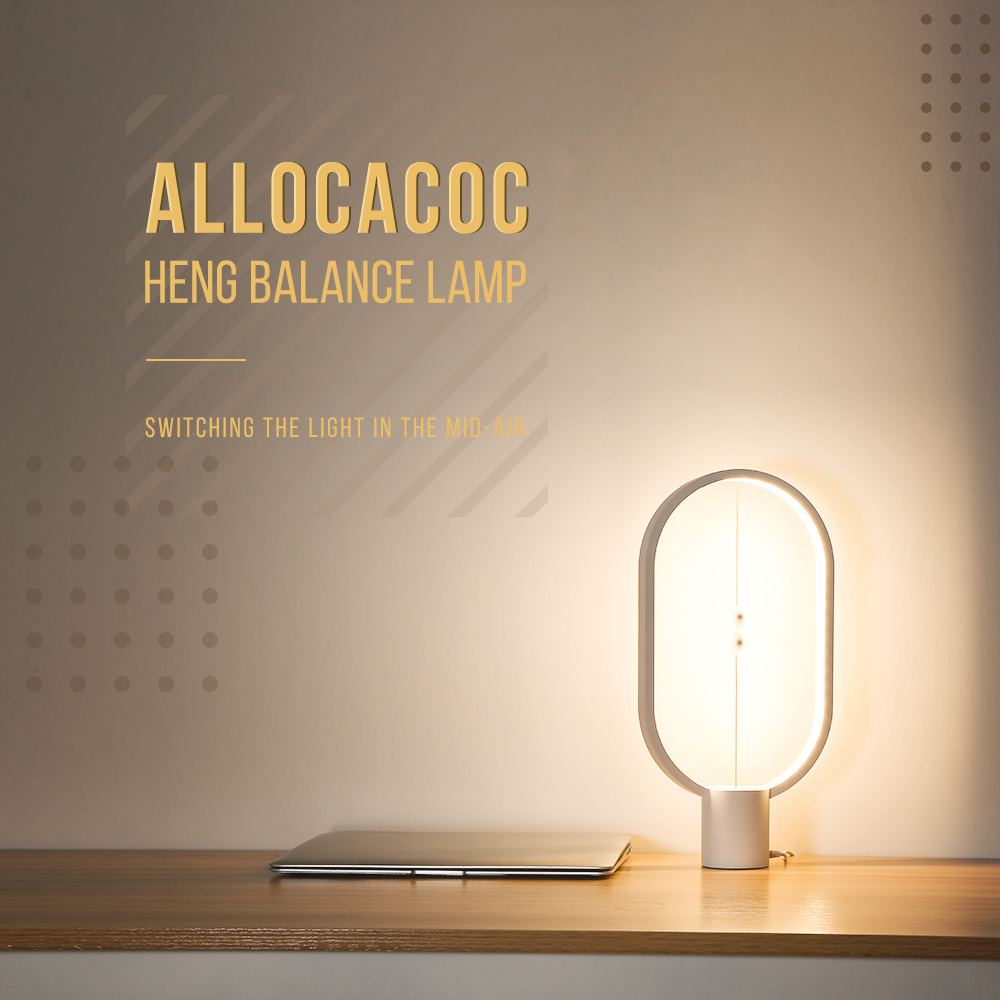 Allocacoc DH0037 Heng Balance Lamp LED Night Light Indoor Decoration