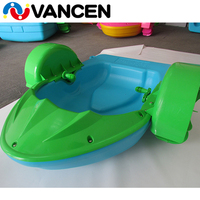 Factory Aqua Toy Kids Paddle Boat 1.3m*0.9m*0.3m Swimming Pool Children Water Hand Paddle Boat