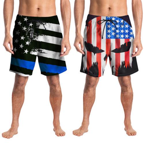 Men's Swimwear Swimsuits Surf   Board   Beach Wear Trunks Boxer   Shorts   NEW