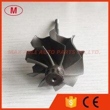 GT2871R 46.95/53.7mm 113mm 9 lame sfera bearingTurbo turbina ruota albero/albero della turbina e girante