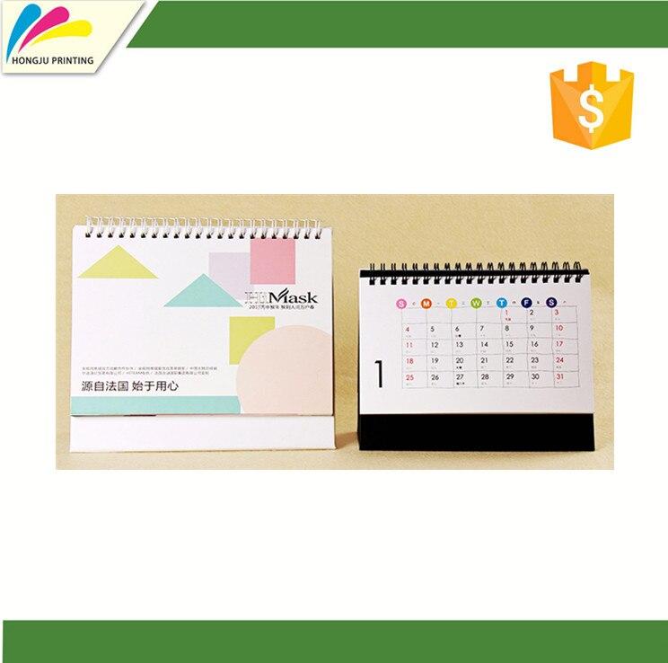 Cheap Custom Full Color Wall Calendar Printing 2019