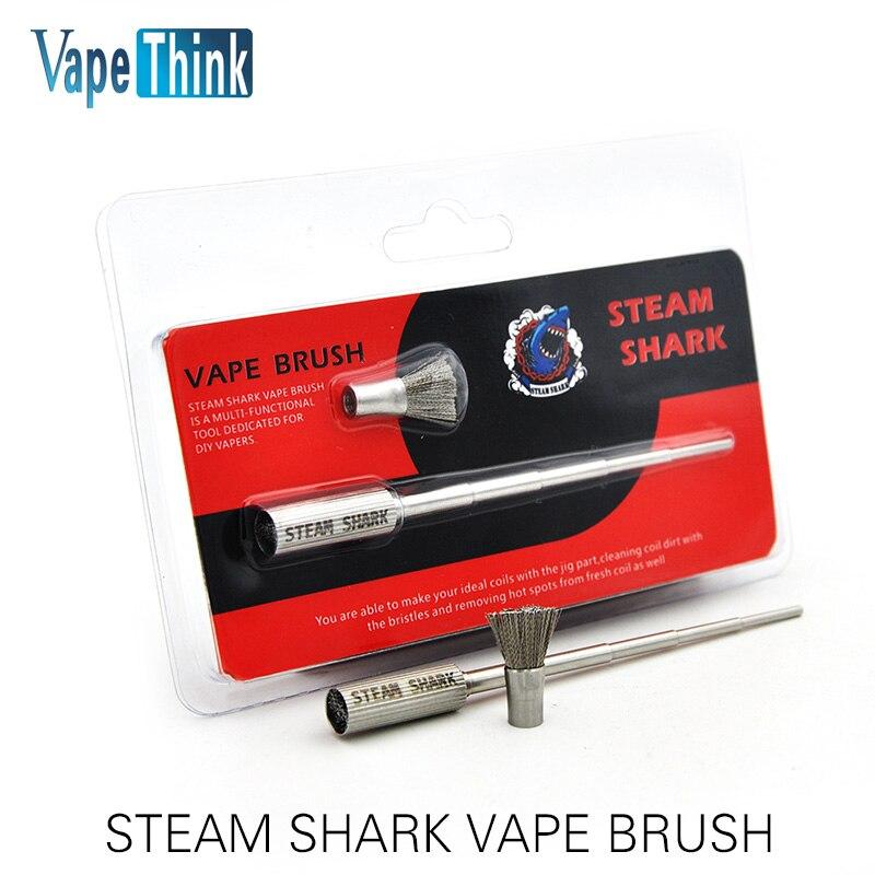 D'origine Vapethink Vapeur Requin Multi-fonctionnelle Vaporisateur Brosse pour RDA Atomiseur Vaporisateur Bobines avec Haute Qualité Vs Bobine Maître