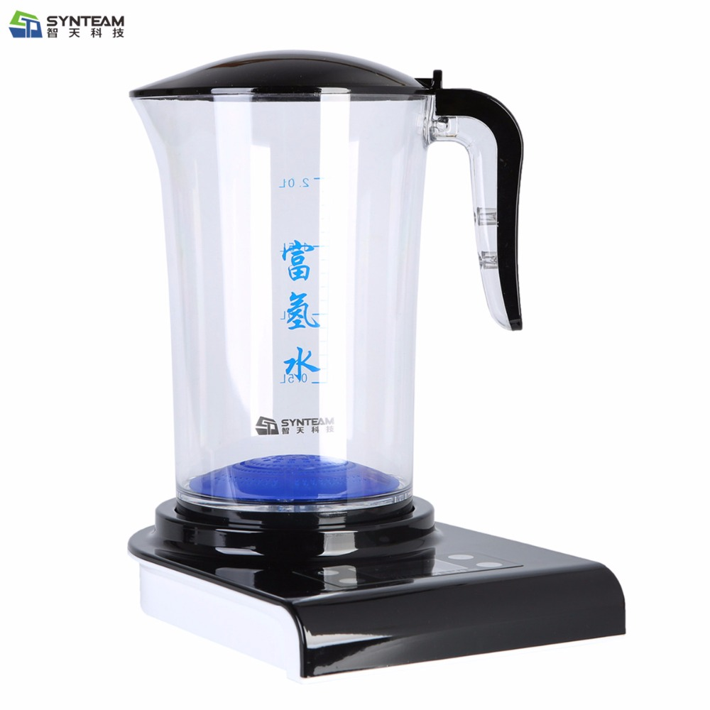 Hydrogen Generator Hydrogen Rich Water Machine Hydrogen Generating Maker Water Filters Ionizer 2.0L PP Material 100-240V 500ml portable hydrogen rich water maker ionizer generator 2016