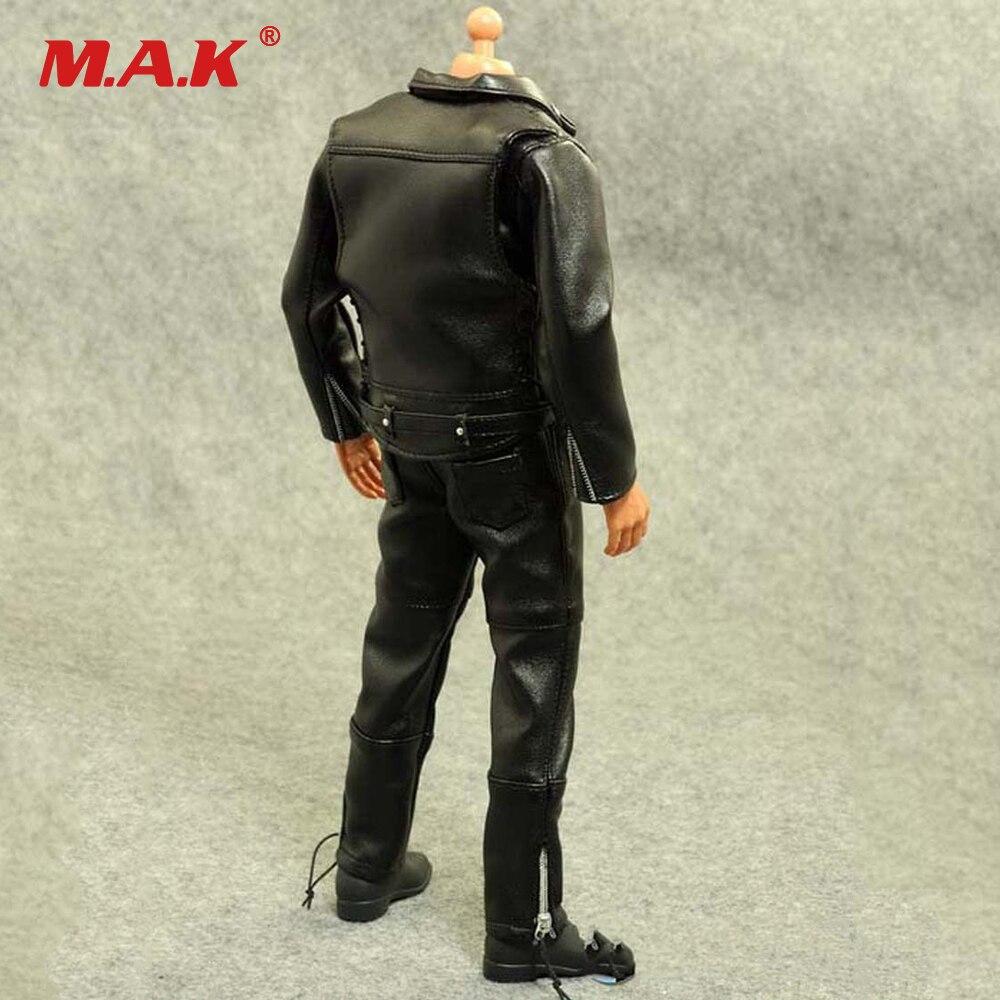"""1//6 Scale clothes suit Leather jacket plus pants F 12/"""" Male Action Figure Toys"""