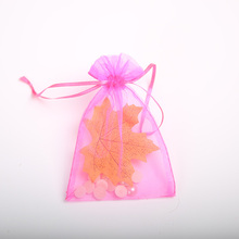15 * 23cm transparent yarn bag organza jewelry bag wedding candy bundle pocket holiday decoration gift bag 20pcs