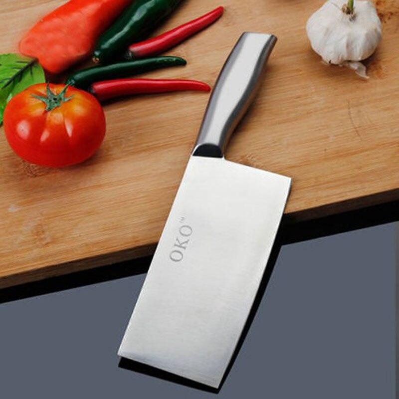 주방 칼 수제 탄소 스틸 컷 뼈 요리사 칼 과일 야채 슬라이스 고기 칼 주방 액세서리 무료 배송