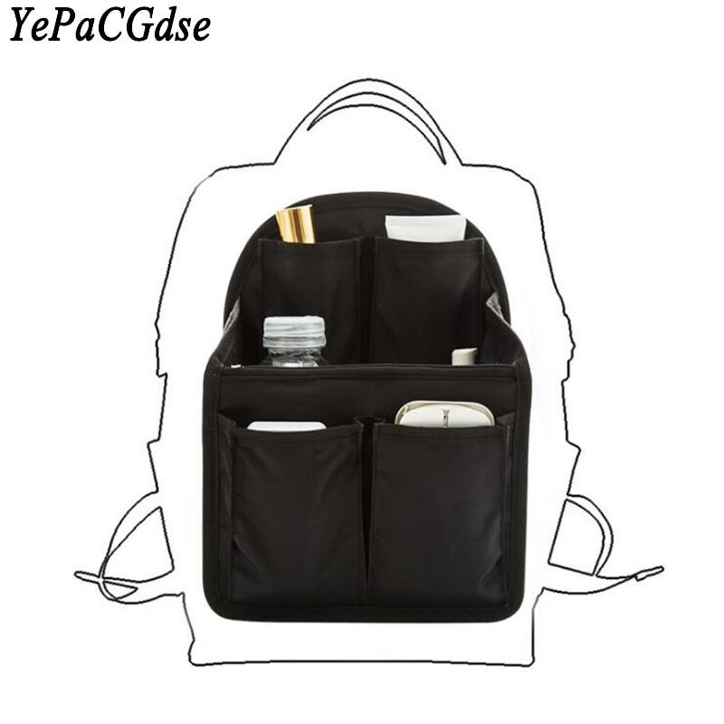 Korea travel backpack ladies liner storage bag handbag sorting large capacity