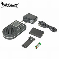 Tactical Hunting Decoy Bird Caller Remote Control Electronics LCD CP360 MP3 Sound Player 1800MAH Digital Hunting