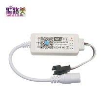 DC5V Magic дома светодиодный контроллер SPI Пиксельная адресация DC12 24 V Миниатюрный Wi-Fi контроллер для WS2811 SK6812 WS2812 Светодиодные ленты светодиодные ленты