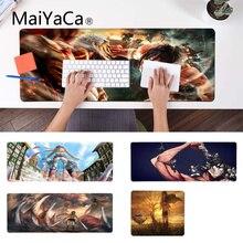 MaiYaCa ваши собственные коврики атака на титановые крылья солдат Ноутбук игровой мыши коврик для мыши ноутбук игровой Lockedge мыши коврик для мыши