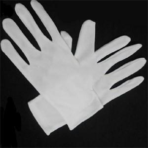 White Cotton Gloves Full Finger Men Women Waiters/drivers/Jewelry/Workers Mittens Sweat Absorption Gloves Hands Protector 1 Pair