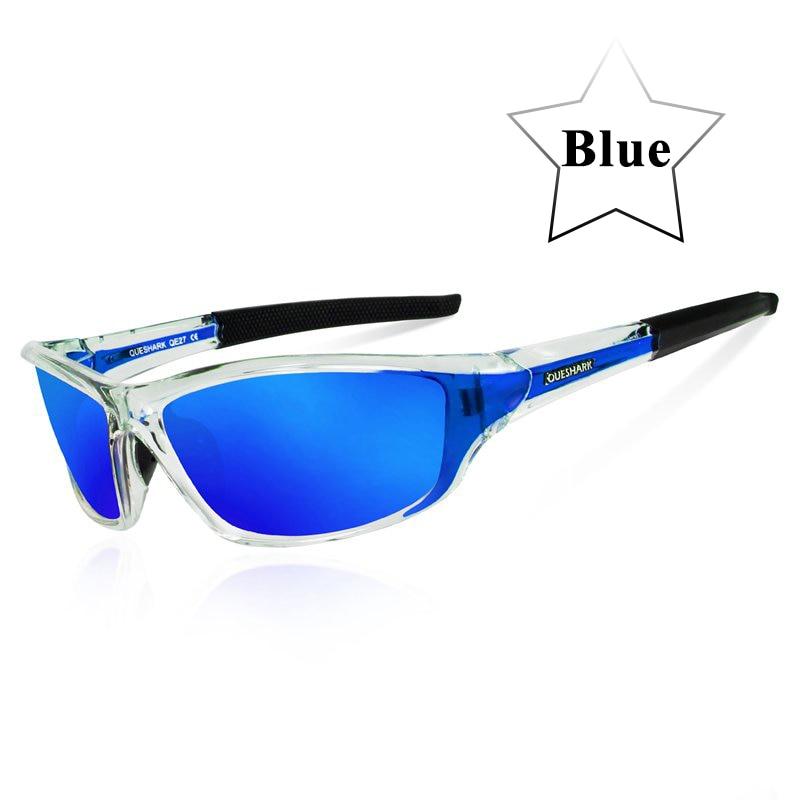 Queshark UV400 Polarized Cycling Glasses Sports Bicycle Sunglasses Bike Glasses Ski Goggles Fishing Cycling Hiking Eyewear 12