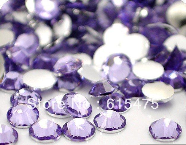 5mm Lt.Amethyst Color SS20 crystal Resin rhinestones flatback,Free Shipping 30,000pcs/bag 5mm black diamond color ss20 crystal resin rhinestones flatback free shipping 30 000pcs bag