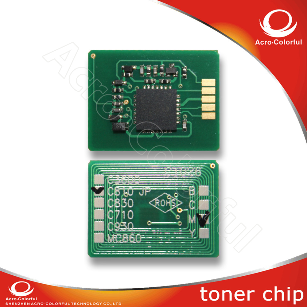 Compatible color laser printer chip reset for OKI C811 C831 841+ toner JP Version refill cartridge 4949443208575