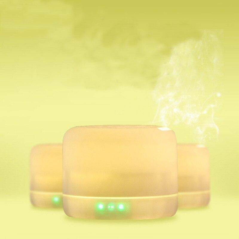 Бренд gzmj ночник цветные bluetooth колонки с ароматом эфирного масла лампа затемнения светодиодный свет спальня ночник домашний декор - 3