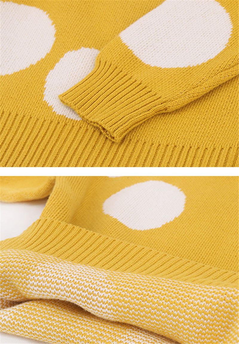 inverno meninas suéteres de malha crianças pulôver