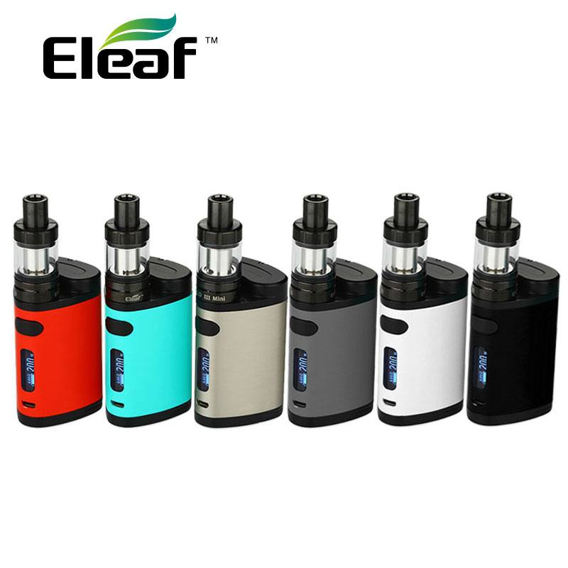 HOT 200W Eleaf Pico Dual TC Vape Kit w/ istick Pico Box Mod MELO 3 III Mini Atomizer 2ml Tank No 18650 Battery vs istick Pico 25 сменная панель для eleaf istick 100w tc черная