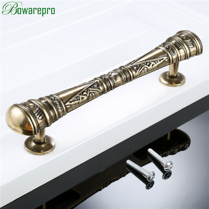 bowarepro 128MM Antique Furniture Handles Vintage Cabinet Knobs and Handles Door Closet Cabinet Drawer Kitchen Pull Handle 1PC print overalls jeans for girls 3 4 5 6 7 8 9 10 11 years 2018 new fashion baby girl fall clothes print jumpsuit long denim pant