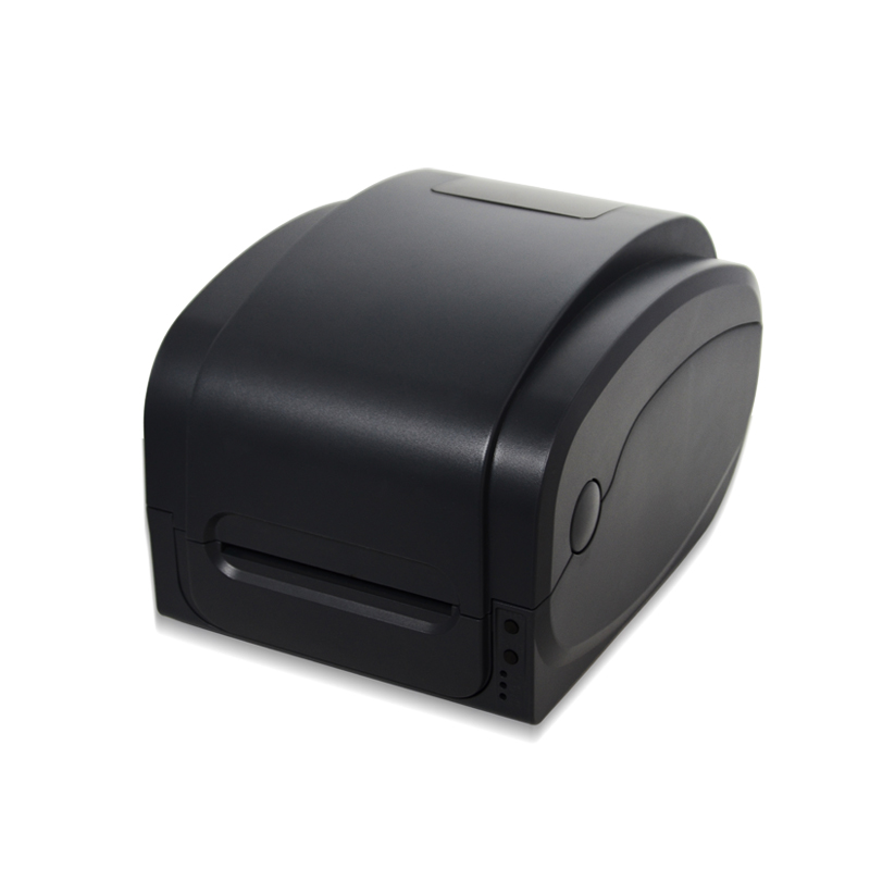 GP-1124T direct thermal & thermal transfer printer for washing cloth tag, PET label, Jewelry label, sticker printer